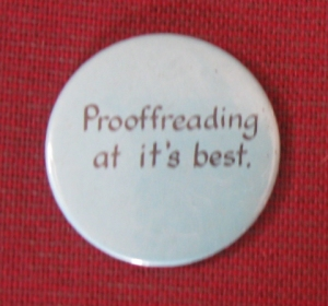 prooffreading