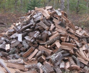 This is a log pile, not a logjam, but you get the idea.