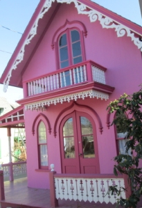 The Pink House from the front