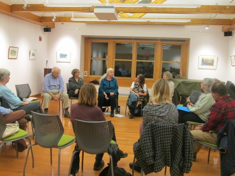 Writers Read, November 2016, West Tisbury (Mass.) Free Public Library