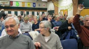 town meeting audience
